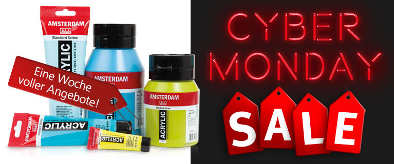 Cyber Monday Sale – eine Woche voller Angebote!