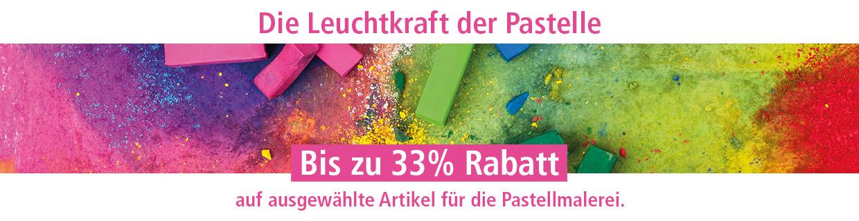 Sichern Sie sich jetzt bis zu 33% Rabatt auf ausgewählte Pastellfarben & Zubehör