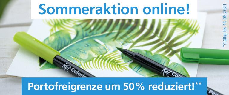 Sommeraktion online