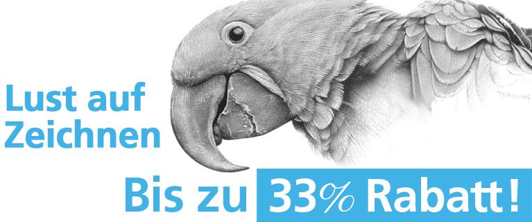 Lust auf Zeichnen - bis zu 33%!